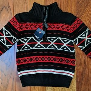Chaps Nordic Soft Knit Sweater New 4T